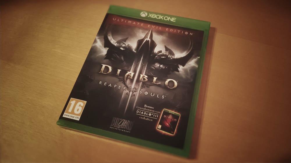 Diablo III - Ultimate Evil Edition - Xbox One Cover