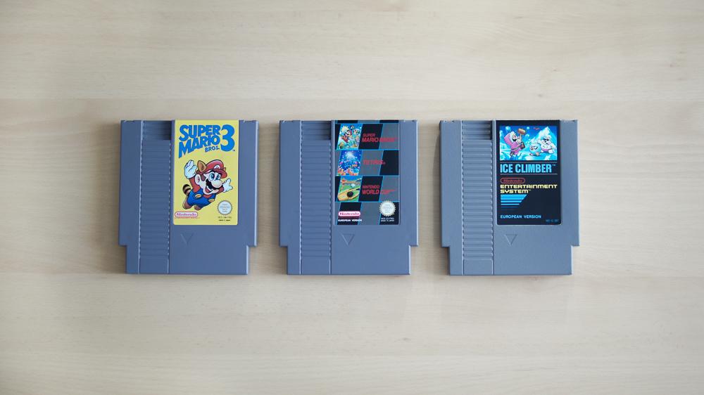 My Nintendo Childhood - NES Spiele
