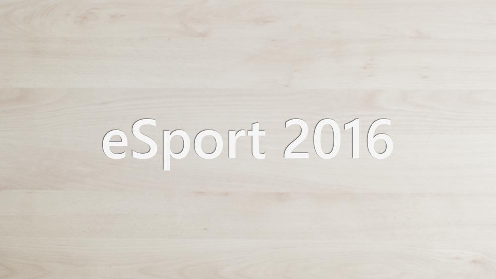 eSport 2016 - Header