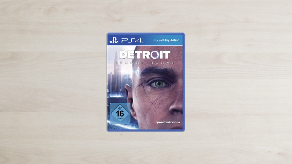 Detroid: Become Human PlayStation 4 Cover