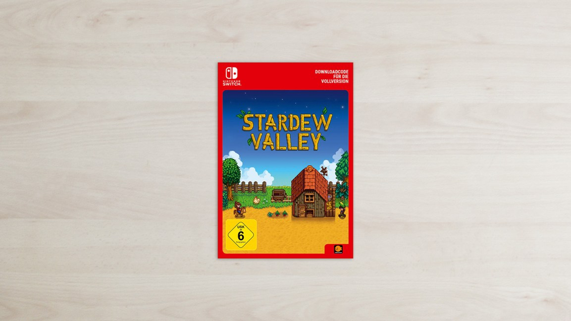 Stardew Valley - Nintendo Switch Code Card