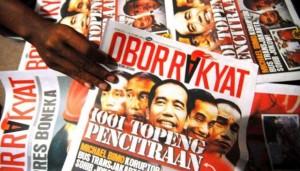 Tabloid Obor Rakyat. (Foto: Tempo)