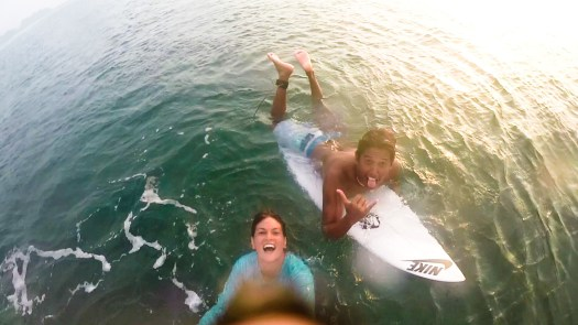 kata siapa di laut kaga bisa selfie :D