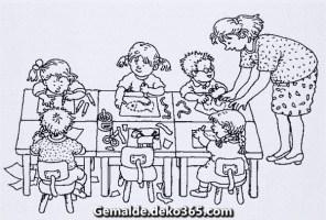 Malvorlagen Kindergarten — Bilder