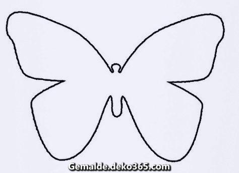 Malvorlage Schmetterling Kostenlos