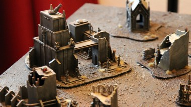 Epic Armageddon Scenery - ruined industrial complex