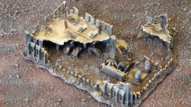 Epic Armageddon Scenery - ruined Manufactorum