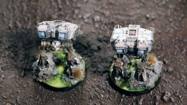 Epic Armageddon - Warhound Titans