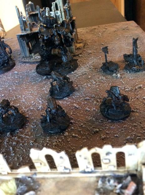 Nurgle Titan Legion Plaguewalkers
