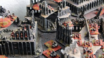 Epic Armageddon Chaos Squat Thunderfire cannons