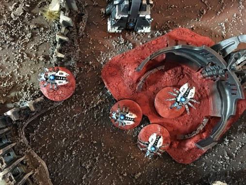 0 Warhammer Epic 40k Tomb Spiders
