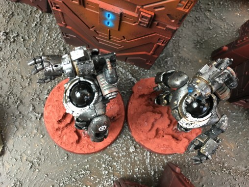 Castellax robots by Gemana