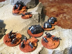 Epic Armegeddon Horus Heresy Iron Hands Scouts3799