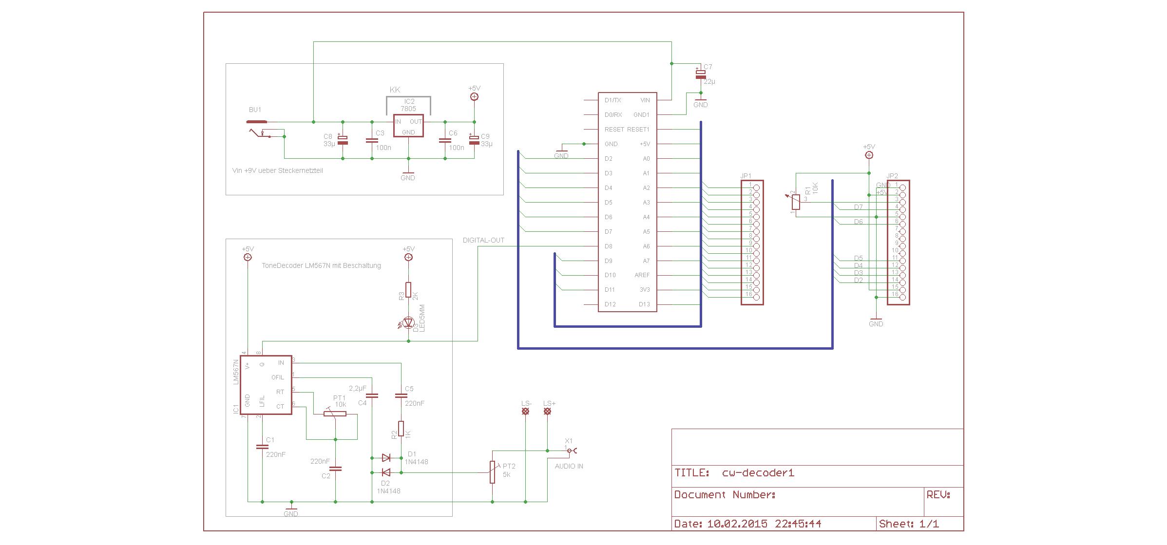 Cw Decoder Nach Wb7fhc