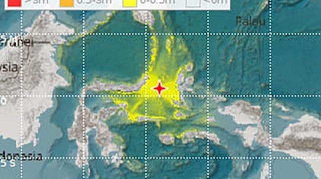 Gempa 7,1 SR, Sulut dan Malut Terancam Disapu Tsunami