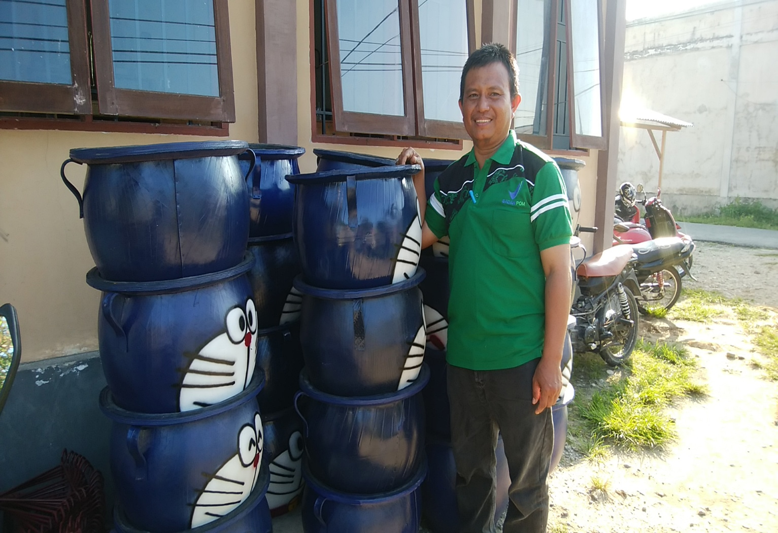 Atasi Sampah, Kelurahan Kampal Adakan Tong Sampah Daur Ulang