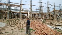 Kemajuan Proyek Pembangunan GOR Parigi Moutong Dibawah 50 Persen