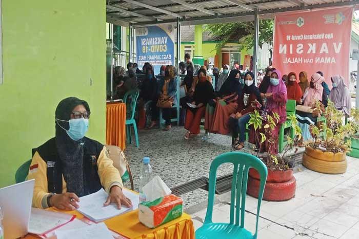 112 Calon Jamaah Haji Parimo Suntik Vaksin Covid 19