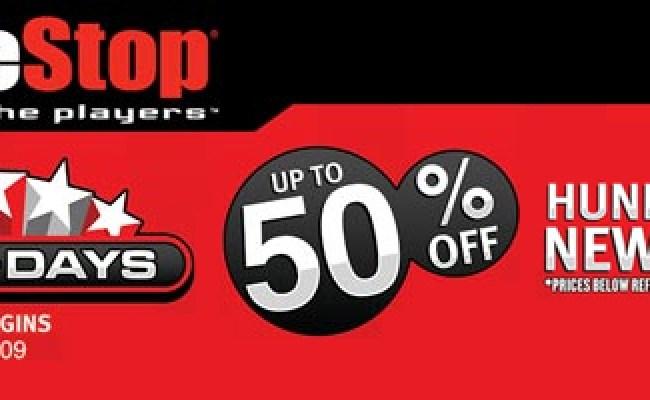 Gamestop Gameday 50 Off Sale Gets Game List Gematsu