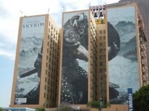 Skyrim Takes Over Figueroa Hotel - Gematsu