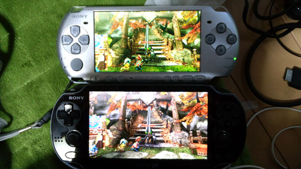 PSP遊戲在PS Vita運行畫質對比! - www.HKGNEWS.com