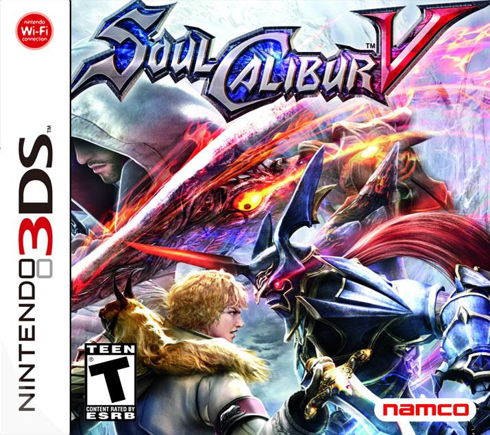Soulcalibur V Coming To 3DS Gematsu