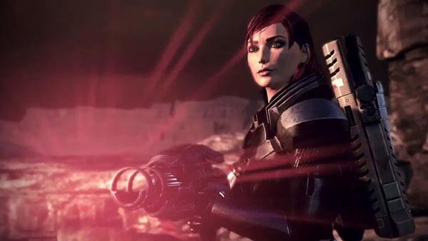 Mass Effect 3 FemShep Trailer Gematsu