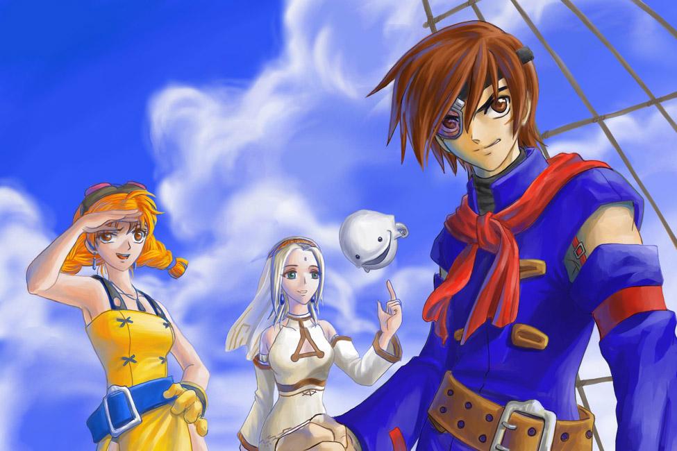 Sega Teases Shenmue Skies Of Arcadia HD Gematsu