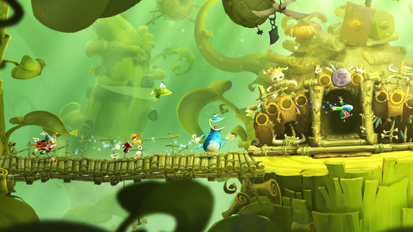 Rayman Legends Toad Story Gameplay Screenshots Gematsu