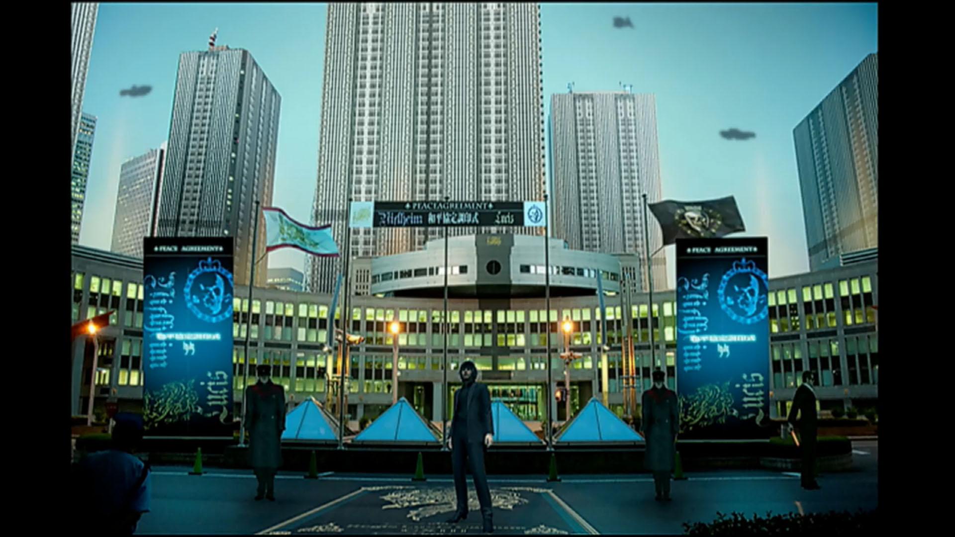 Girls Und Panzer Wallpaper Final Fantasy Xv S Modern City Artwork Showcased During