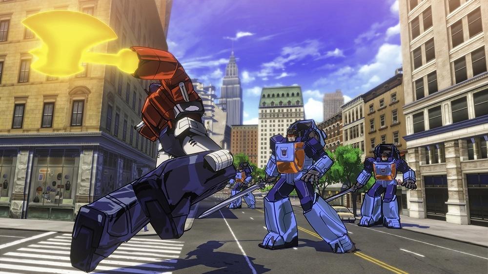 Cel Shaded Brawler Transformers Devastation Leaked Gematsu