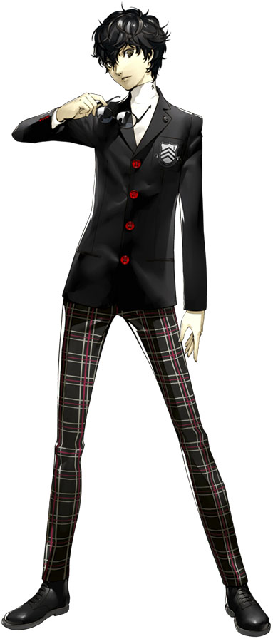 Persona 5 Reveals New Persona Artwork Updated Character
