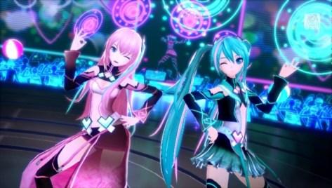Resultado de imagen de Hatsune Miku: Project Diva X Miku y Luka