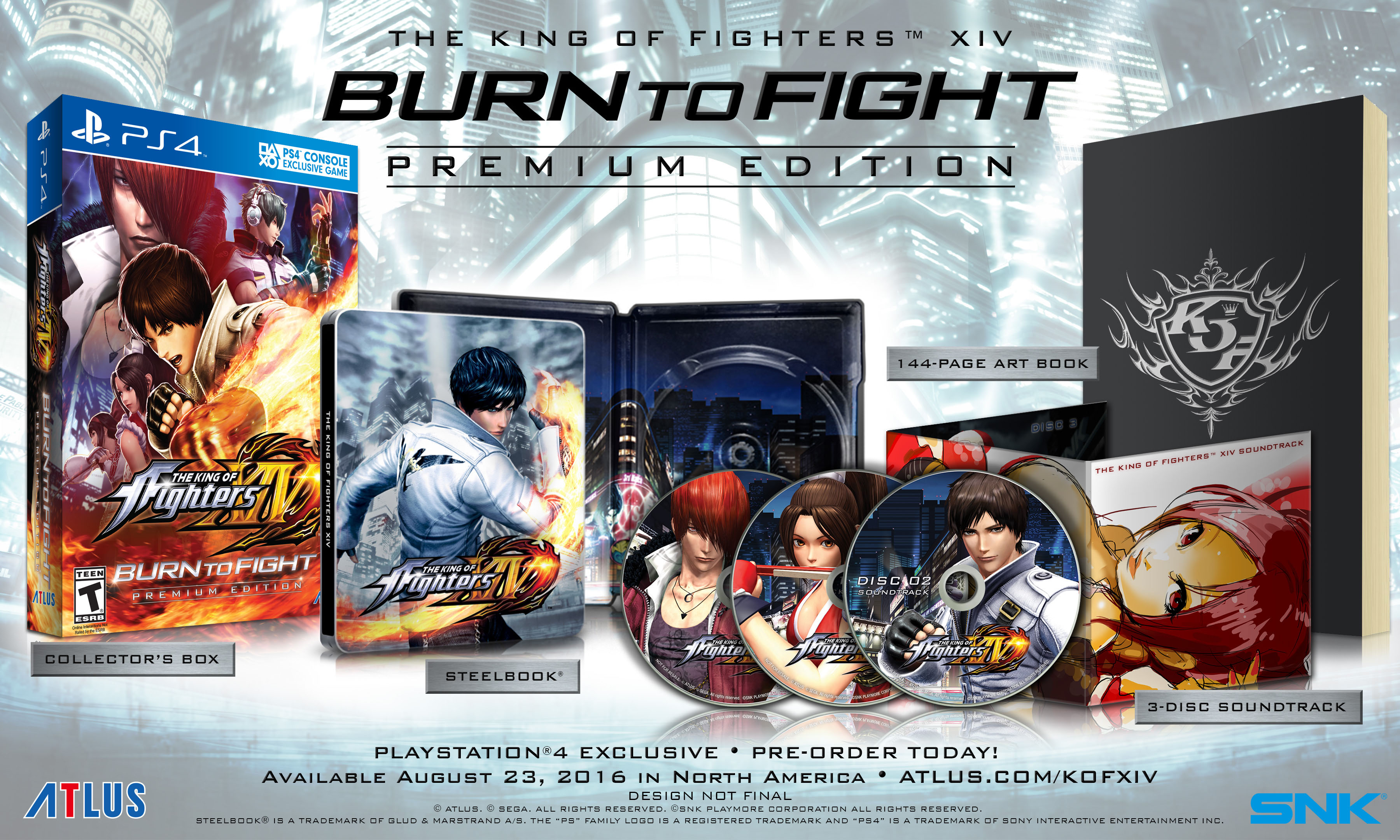 The King Of Fighters XIV North American Premium Edition