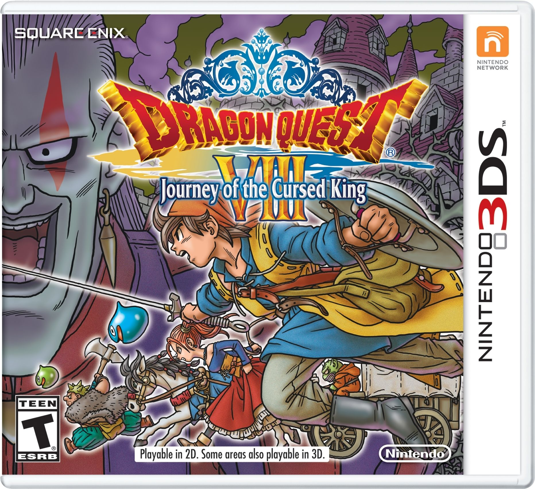 Dragon Quest 7 3ds Fliegender Teppich Dragon Quest Viii For 3ds Launches January 20 In The West