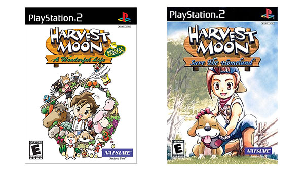 Harvest Moon: Save the Homeland and A Wonderful Life Special Edition