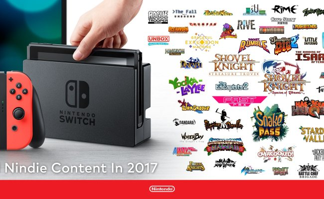 Nintendo Announces 64 Indie Games Coming To Switch In 2017