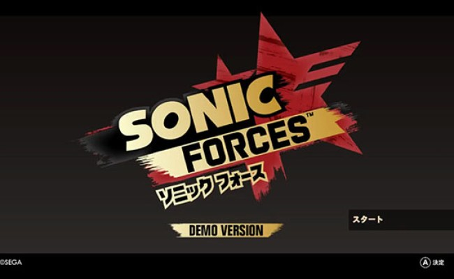 Sonic Forces Demo Now Available For Switch In Japan Gematsu