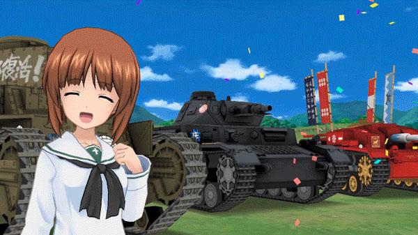 Girls und Panzer: Atsumare! Minna no Senshadou!