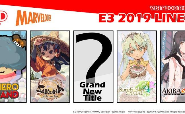 Xseed Games Announces E3 2019 Lineup Gematsu