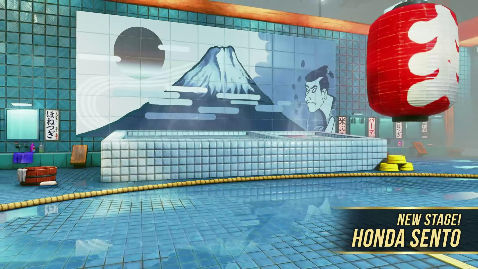 Street Fighter V Honda