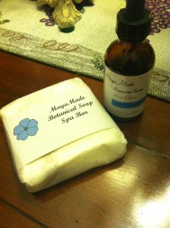 Luxurious soap and honey rose elixir from Maya Made!
