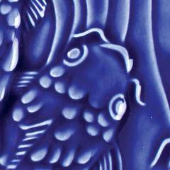 LG 21 2x2 Fish Tile - LG-21 Dark Blue