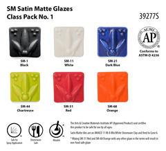 SM Satin Matte Glazes Class Pack No. 1 SKU39277S WEB - Satin Matte Class Pack #1