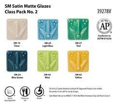 SM Satin Matte Glazes Class Pack No. 2 SKU39278V WEB - Satin Matte Class Pack #2