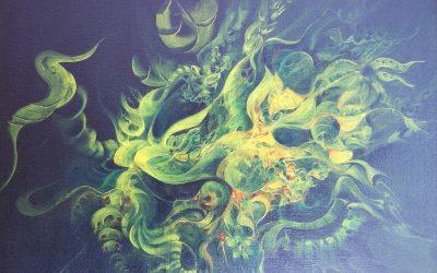 Abstrakte Malerei von Silvia Dreyer aus Eickhorst