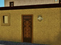 Eingang zum Möbellädchen