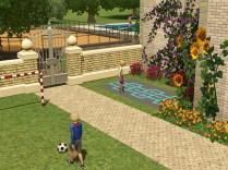 Spielplatz des Frühlernzentrums