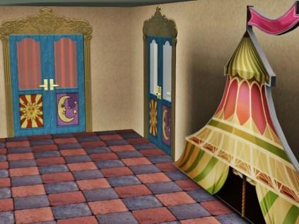Eingang zum Proberaum für Zauberer