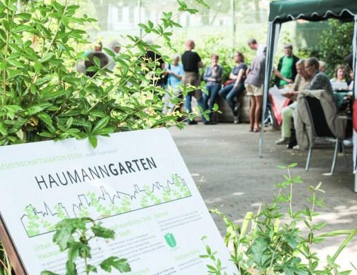 Sommerfest im Haumanngarten: